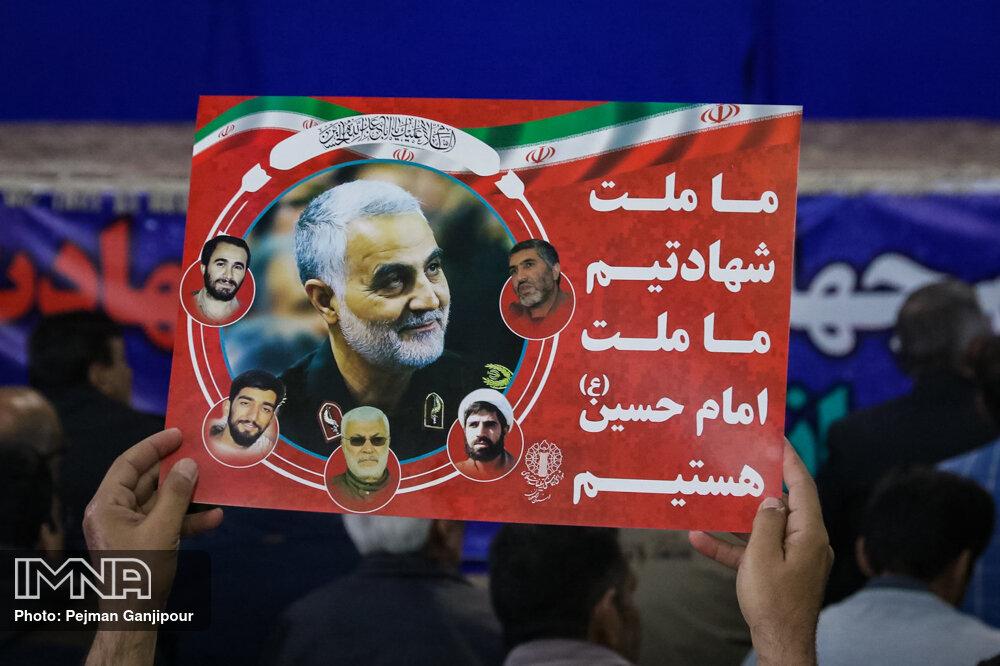 «سرباز وطن» محور برنامههای تهران در سالگرد شهادت سردار سلیمانی