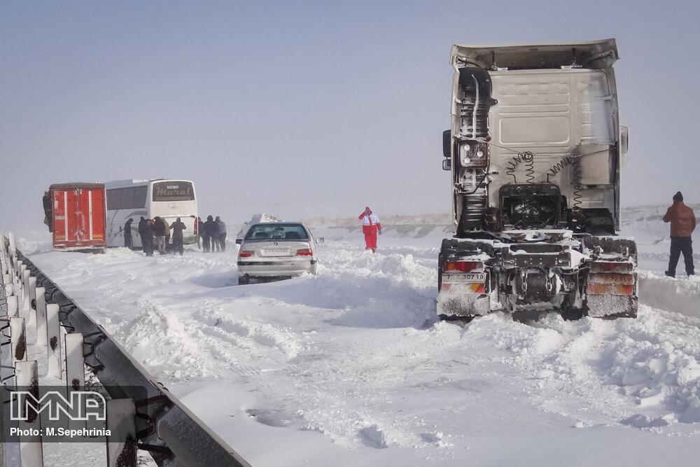 آخرین وضعیت جادههای مسدود در سراسر کشور