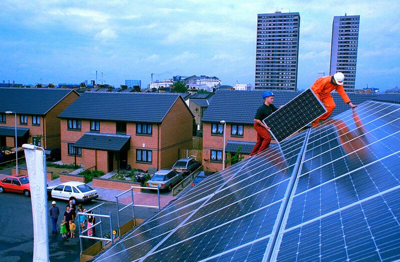 استراتژیهای کارآمد بهرهبرداری انرژی خورشیدی در شهرها