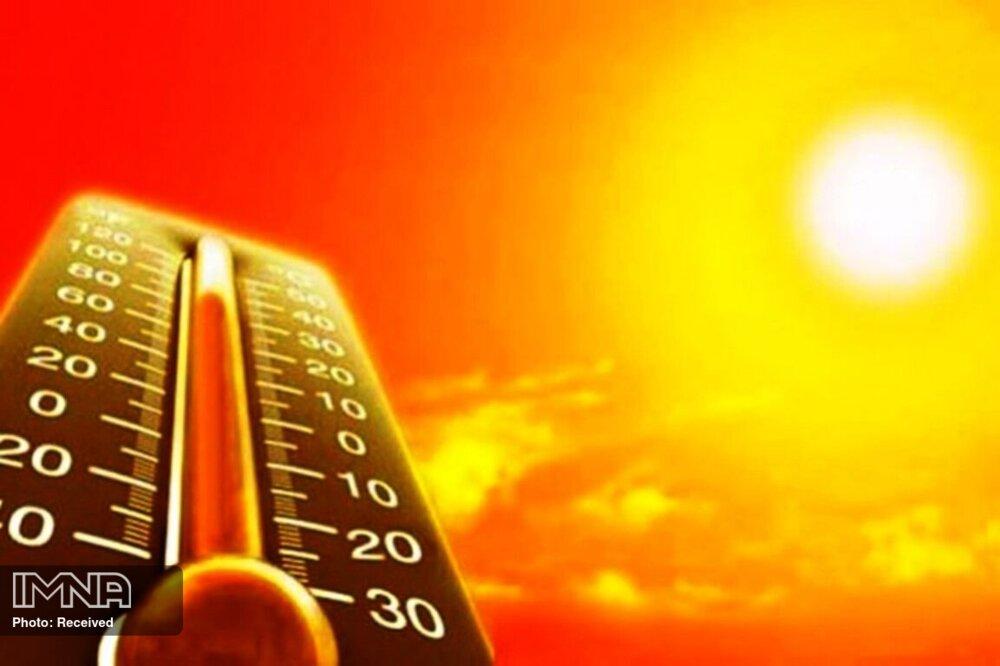 دمای هوا در اصفهان به ۴۰ درجه رسید