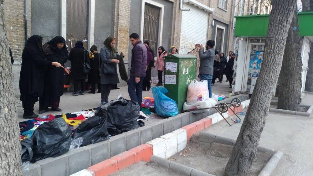 ساماندهی دستفروشان در پایتخت آنلاین می شود