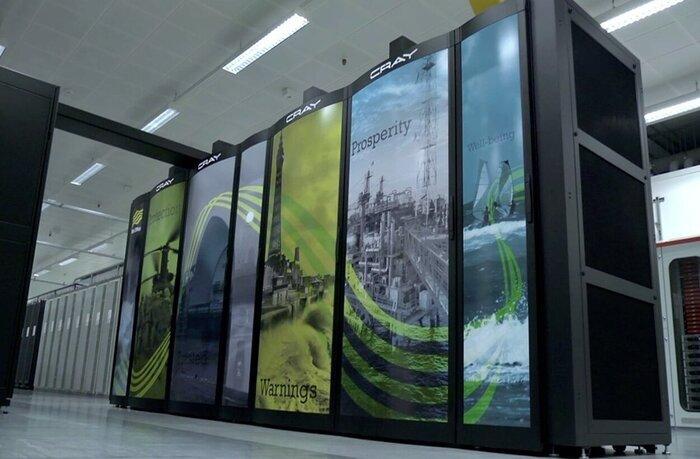 پیشبینی سیل با سریعترین رایانه هواشناسی جهان