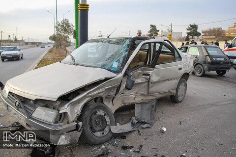 فوت ۴ نفر در تصادف مرگبار سمیرم