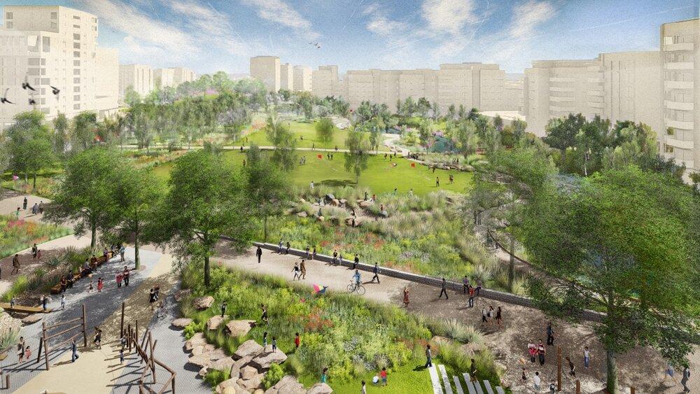 شهرهای خاکستری جهان سبز میشود
