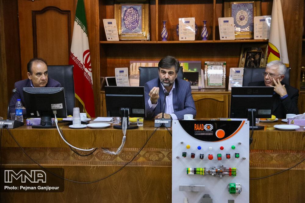 نشست سندیکای صنعت برق شعبه اصفهان