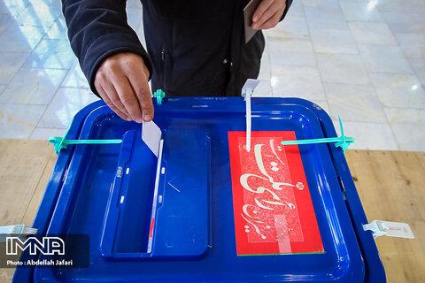 میزان مشارکت در انتخابات ریاست جمهوری ۳۸ درصد است