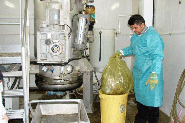 کاهش تولید زبالههای عفونی در بجنورد