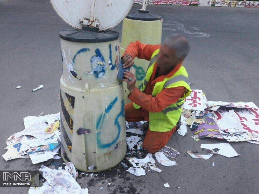 بکارگیری ۵۰ نیروی شهرداری نکا برای پاکسازی شهر