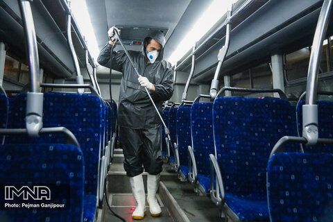 ضدعفونی ناوگان اتوبوسرانی با استفاده از نانو ذرات کوانتوم