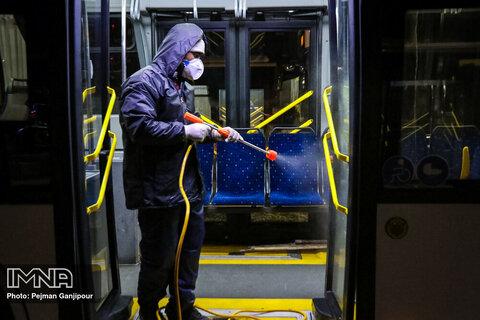 تمهیدات جدید کرونایی در اتوبوسرانی اصفهان