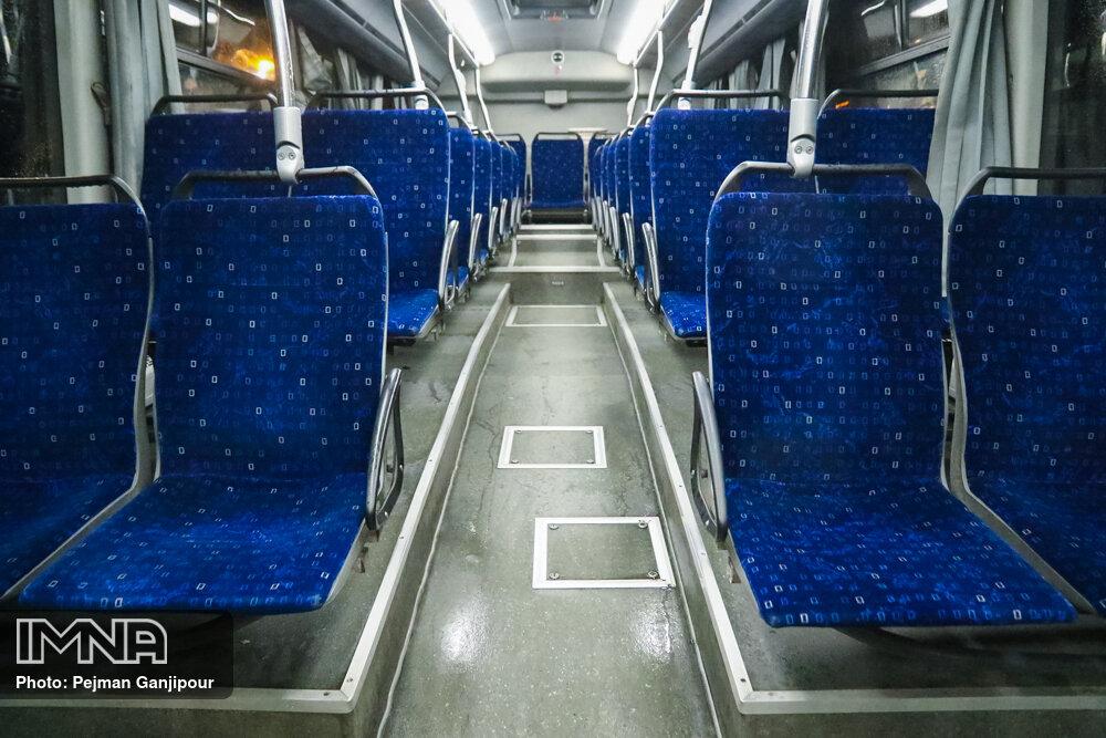 استفاده از تمام ظرفیت ناوگان حمل و نقل عمومی با رعایت پروتکل بهداشتی