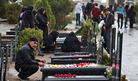 جلوگیری از تجمعات و برگزاری مراسم در آرامستانهای شیراز
