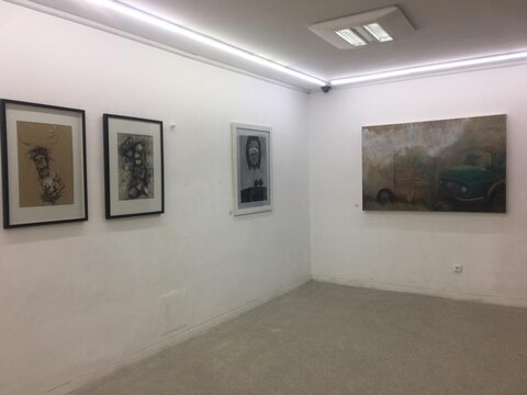 نمایشگاهی از آثار هنرمندان افغانستانی