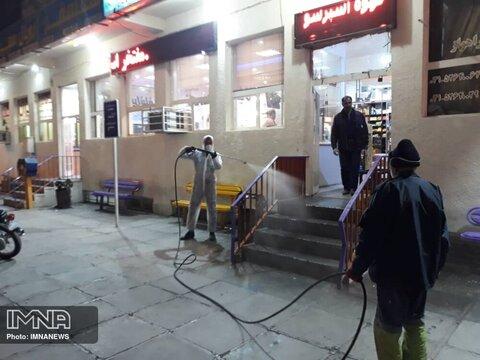 اعمال مجازات به دلیل رعایت نکردن شیوهنامههای بهداشتی در اماکن دولتی