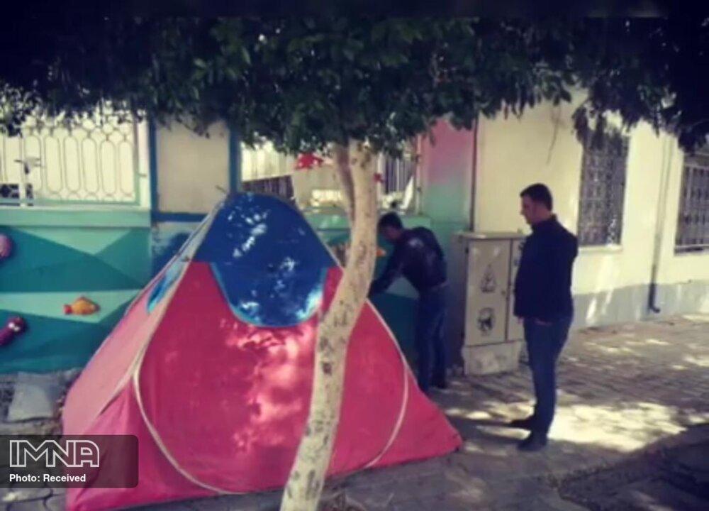 جمعآوری ۸۱ چادر مسافرتی از سطح شهر