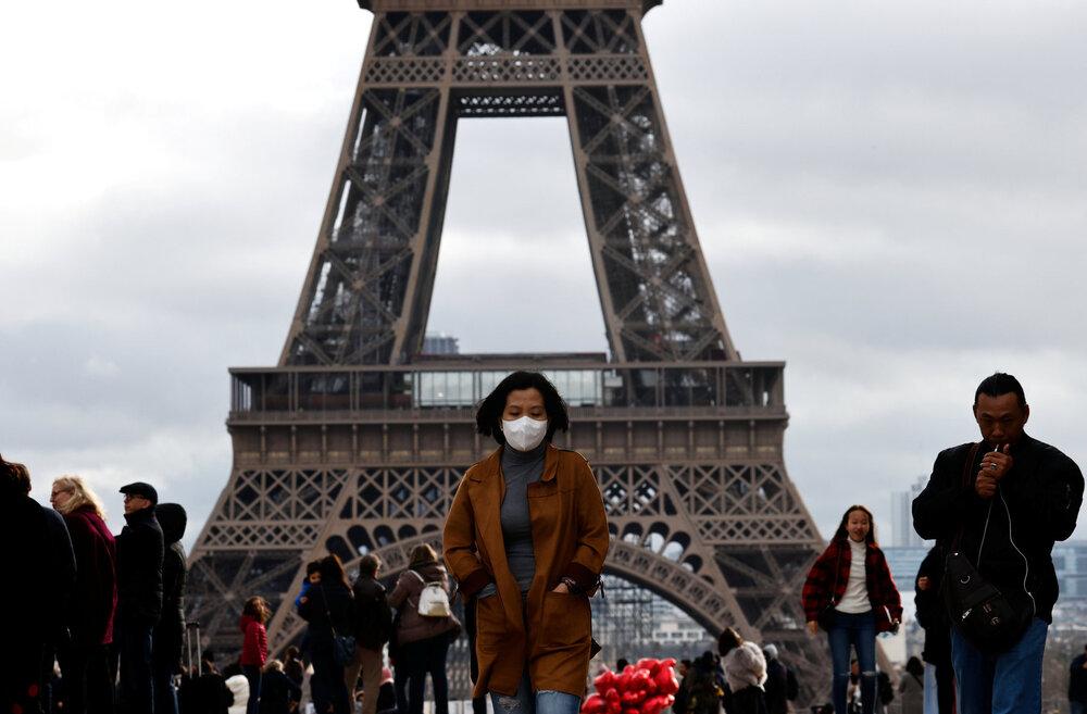 شنیده شدن صدای شبیه  انفجار شدید در پاریس