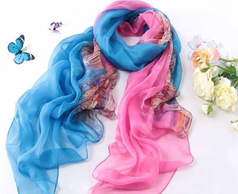 کدام رنگ شال و روسری برای پوست شما مناسبتر است