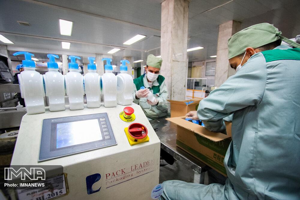 تشویق تولیدکنندگان به ایجاد خط تولیدی اقلام بهداشتی