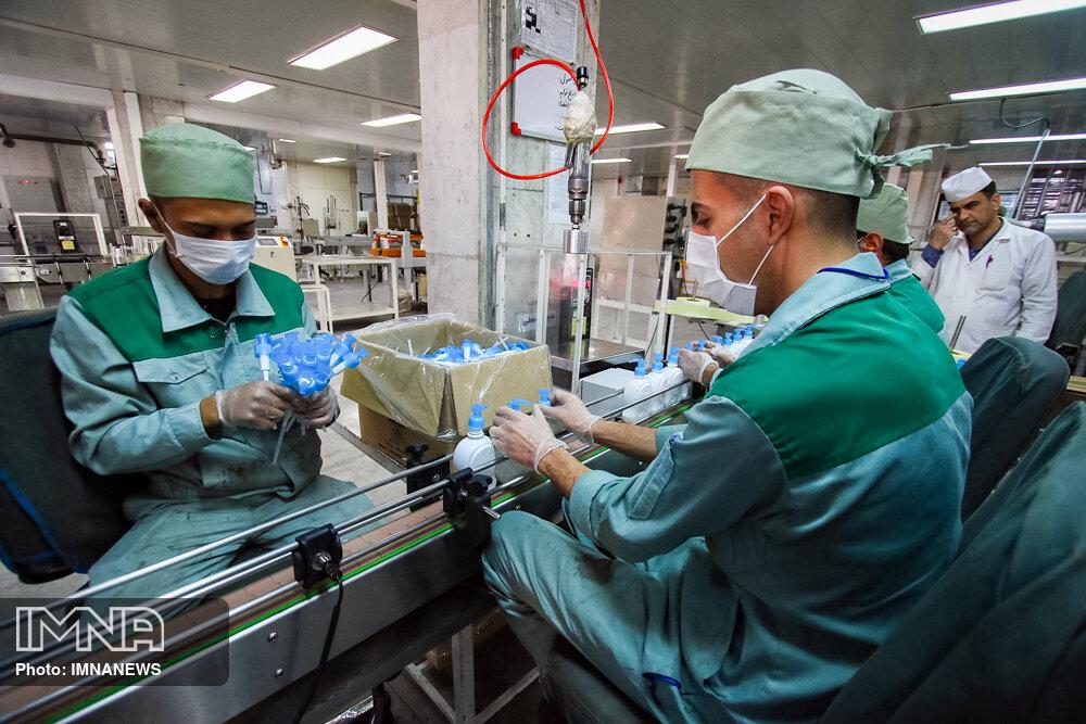 ساخت دستگاه تولید ماسک در شهرک علمی تحقیقاتی اصفهان