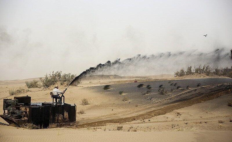 پایان مالچپاشی در ابوزیدآباد/ طرح در ۲۹۵ هکتار اجرا شد
