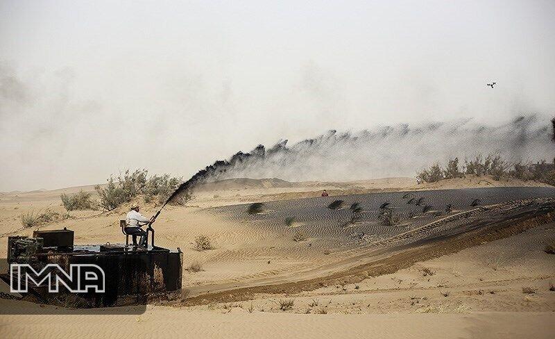 نسخه نفتی برای مهار گرد و غبار اصفهان