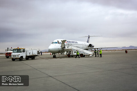 فرود اضطراری هواپیمای بویینگ ۷۳۷ هندوستان در زاهدان