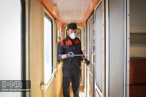 Isfahan's disinfection efforts against Coronavirus