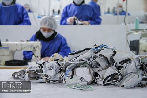 اعلام آمادگی سازمان سرمایه گذاری شهرداری یزد برای مشارکت در تولید ماسک