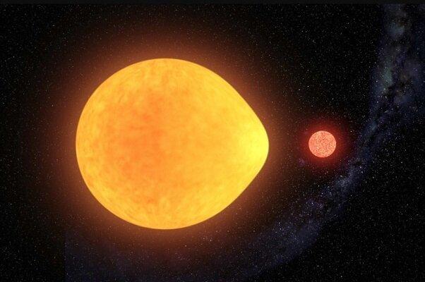 کشف ستارهای به شکل قطره اشک