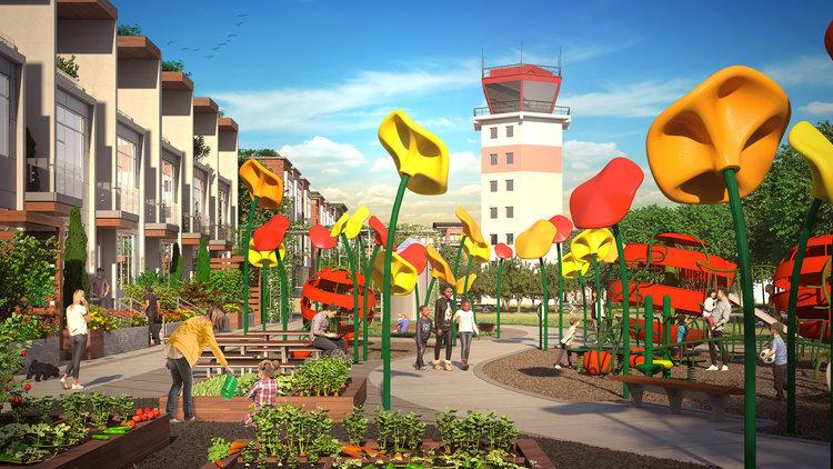 مکانسازی شهری با سازههای بدون استفاده!