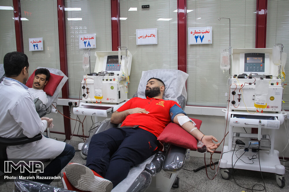 بانک خون در وضعیت قرمز