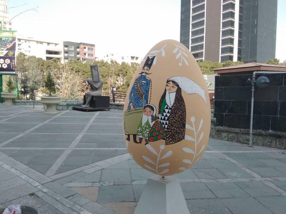 استقبال از بهار با نوروزخوانی و جشنواره تخم مرغ رنگی در آمل