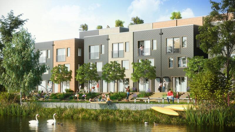 احداث منطقه کربن صفر در محله متروکه آلمانی