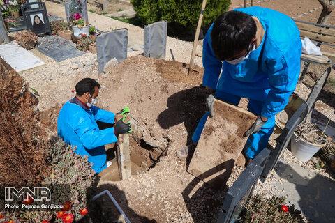 توضیحات سازمان آرامستان در خصوص تدفین اموات مبتلا به کرونا در بندرعباس