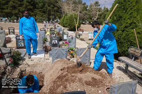 افزایش تعداد فوتیهای ناشی از کرونا در شیراز