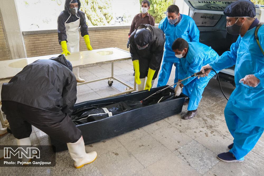 افزایش ۲ برابری تدفین کروناییها در وادی رحمت تبریز