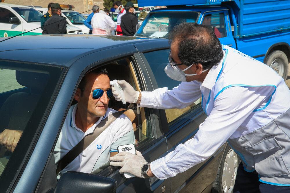 غربالگری بیش از ۱۱۴ هزار نفر در مبادی مرزی رسمی کشور/انجام ۶۶۶۹ مورد تست PCR
