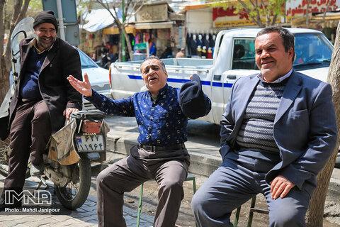 عدم رعایت نکات بهداشتی در اصفهان به عنوان یکی از استان های پرشیوع کرونا در  ایران
