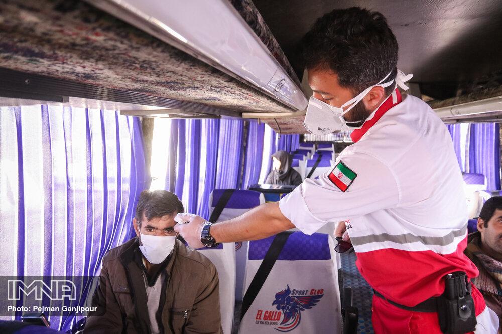 پایش حدود ۲۵۰ هزار مسافر در مبادی مرزی کشور