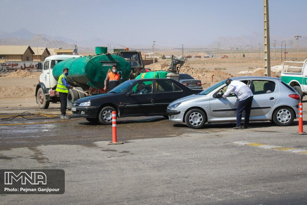 جریمه ۵۰۰ هزار تومانی برای ترددهای غیرضروری ۱۲ و ۱۳ فروردین در اصفهان