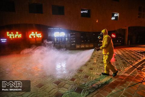 سازماندهی ۲ تیم آتشنشانی برای ضدعفونی بروجرد