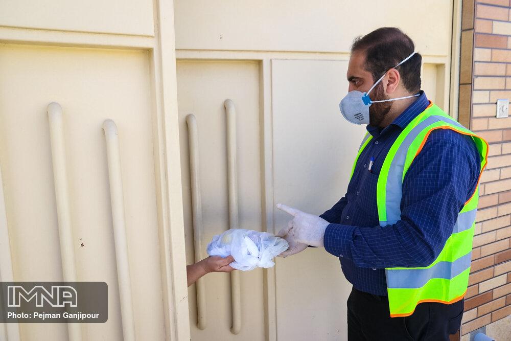 ارسال مواد ضدعفونی کننده به مناطق محروم