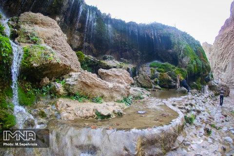 آبشار آسیاب خرابه در آذربایجان شرقی