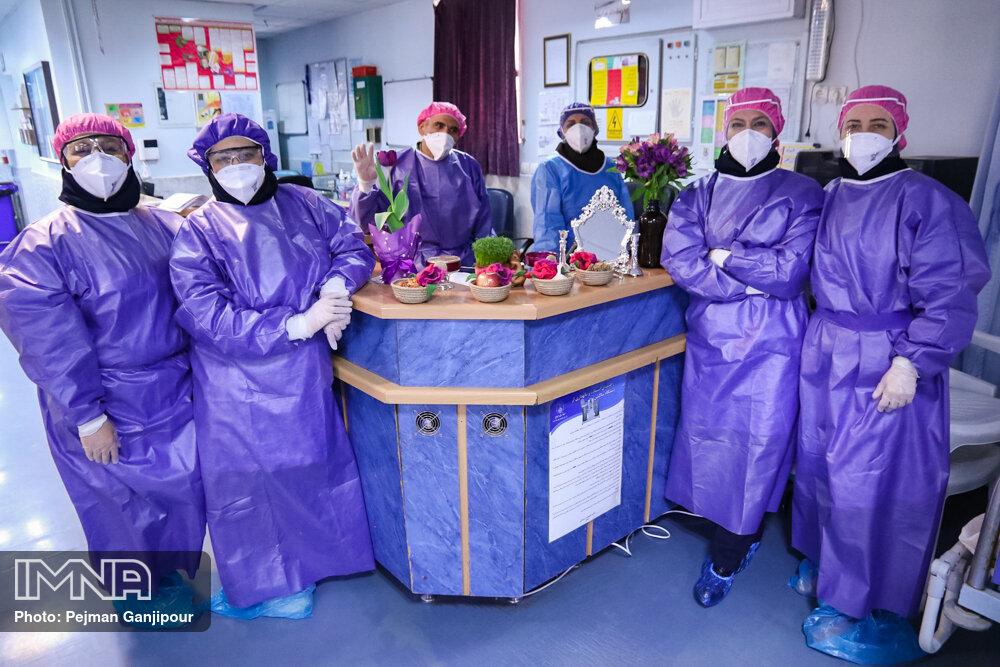 فداکاری سرلوحه فعالیت پرستاران در پاندمی کرونا