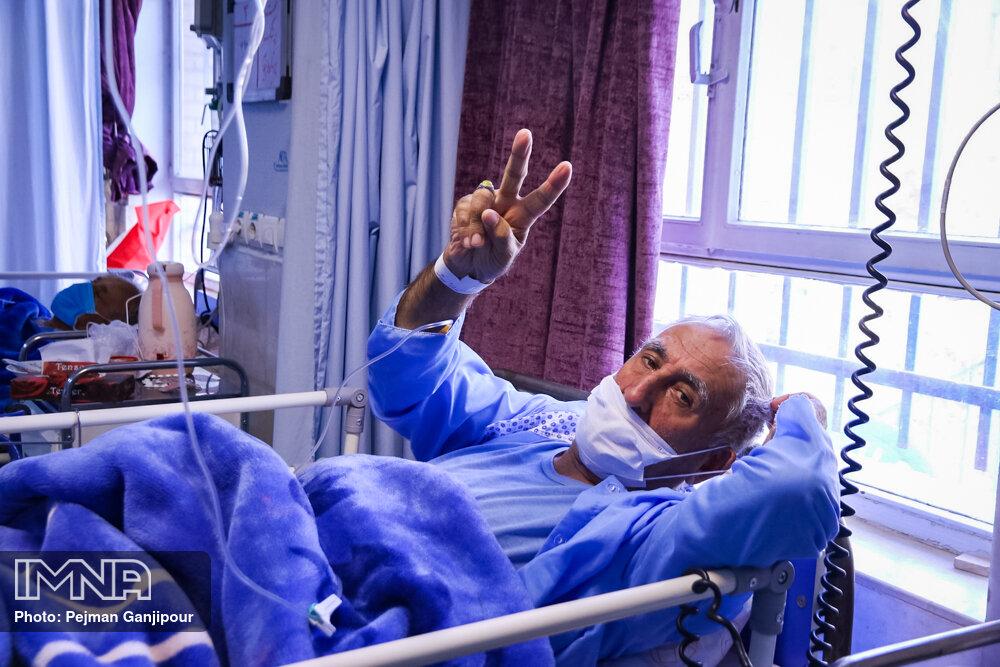مراجعه روزانه ۱۴۰ نفر دارای علائم کرونا به بیمارستانهای اصفهان