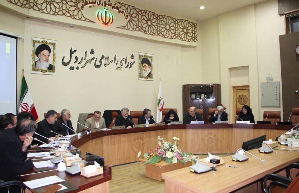 تغییر در ترکیب هیئت رئیسه شورای شهر اردبیل