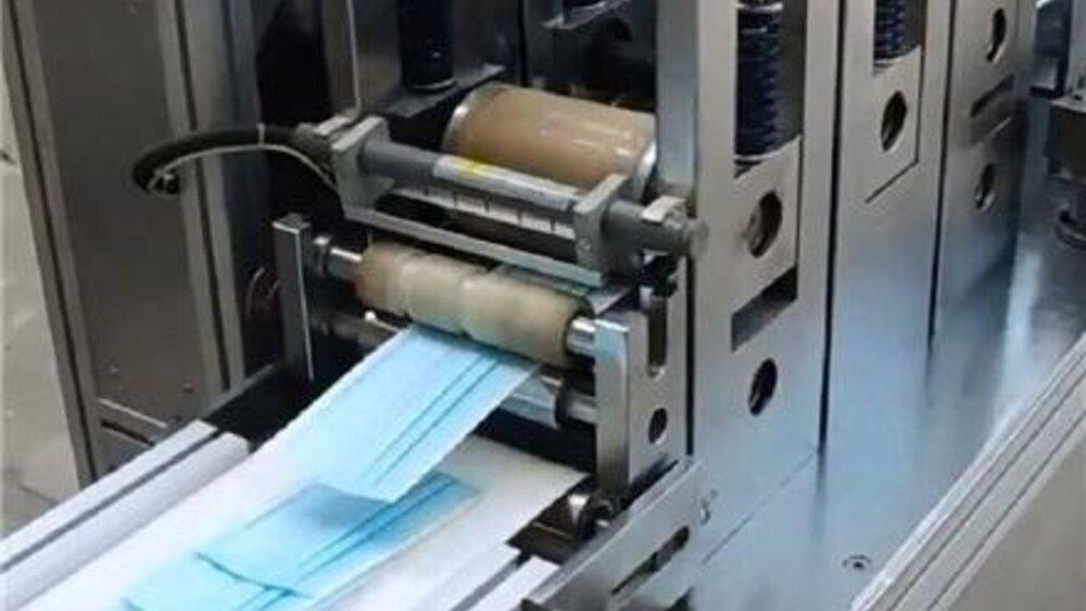 ساخت دستگاههای تولید ماسک در کشور تکمیل شد