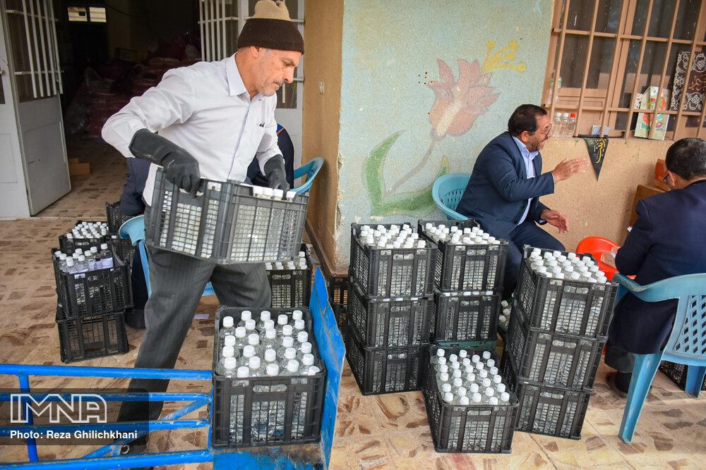 محموله ضدکرونایی بنیاد برکت به مناطق محروم ارسال شد