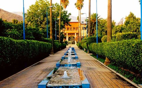 Delgosha Garden in Shiraz