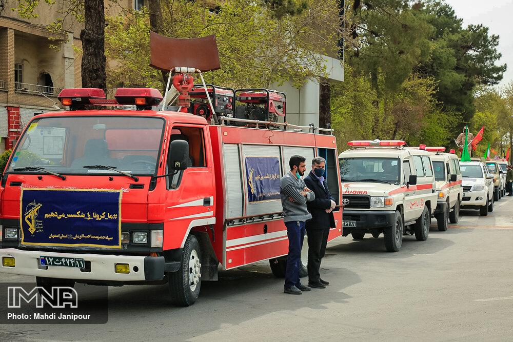 برگزاری رزمایش روز بدون حادثه در اصفهان/وجود ۱۰۹ محور پرحادثه در استان